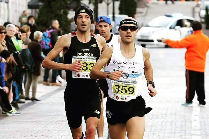Los gimnásticos lideran los 10000 metros y la Milla en Galicia