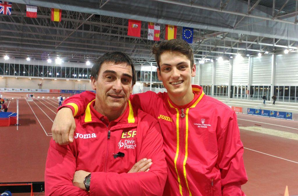 2 atletas de la Gimnástica con la selección de España