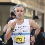 Rubén Diz vencedor en la carrera Correndo por Ourense