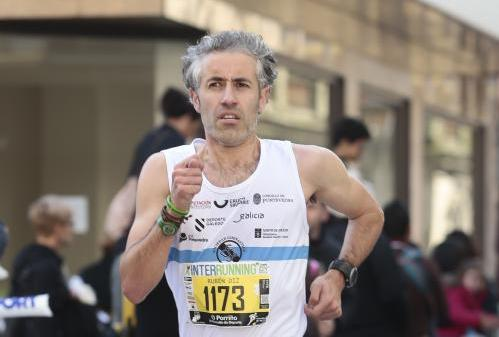 Rubén Diz, tercero de Europa de veteranos