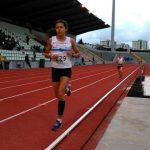 Grandes marcas de los atletas de la Sociedad Gimnástica en el nacional de Gran Fondo en pista