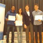 Reconocimiento del Secretario Xeral Para O Deporte a Darío Costas por su título de Campeón de España