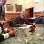 Firmado el convenio de patrocinio con la Deputación