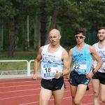 Alex Flórez bate el récord del mundo veterano de 5.000 metros marcha