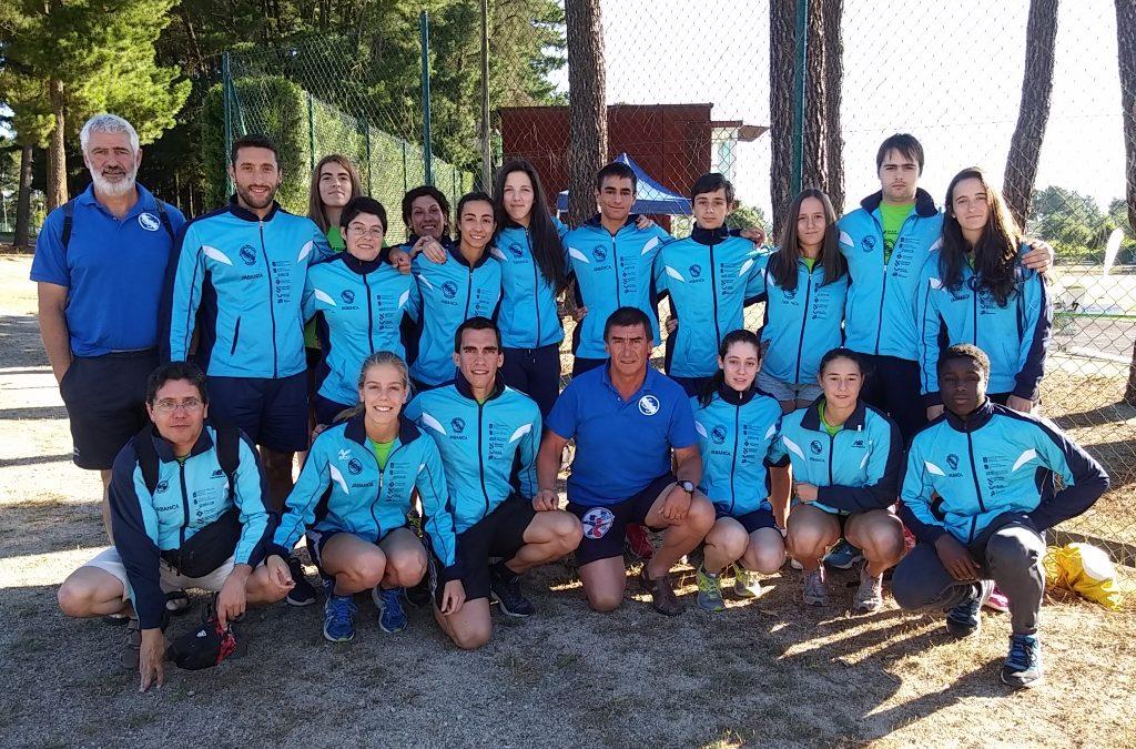 La Sociedad Gimnástica firma un gran Campeonato de Galicia Absoluto