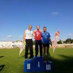 11 medallas para la Sociedad Gimnástica en el gallego de veteranos