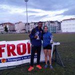 Jean Marie Okutu y Leticia Fernández se imponen en el Trofeo Boa Vila