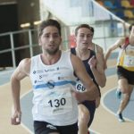Roberto Tello plata en 400 en el Campeonato Absoluto de Cataluña de PC