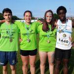 Tres atletas de la Gimnástica en el nacional escolar