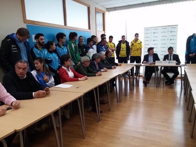 Firmado el Convenio con la Fundación Deporte Galego