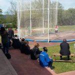 Los lanzadores de la Gimnástica compitieron en Vila Nova de Cerveira