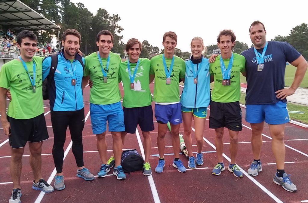 Lluvia de medallas en el Campeonato Gallego Absoluto