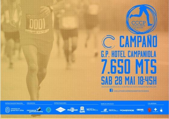 Mañana vuelve el CCCP con la carrera de Campañó