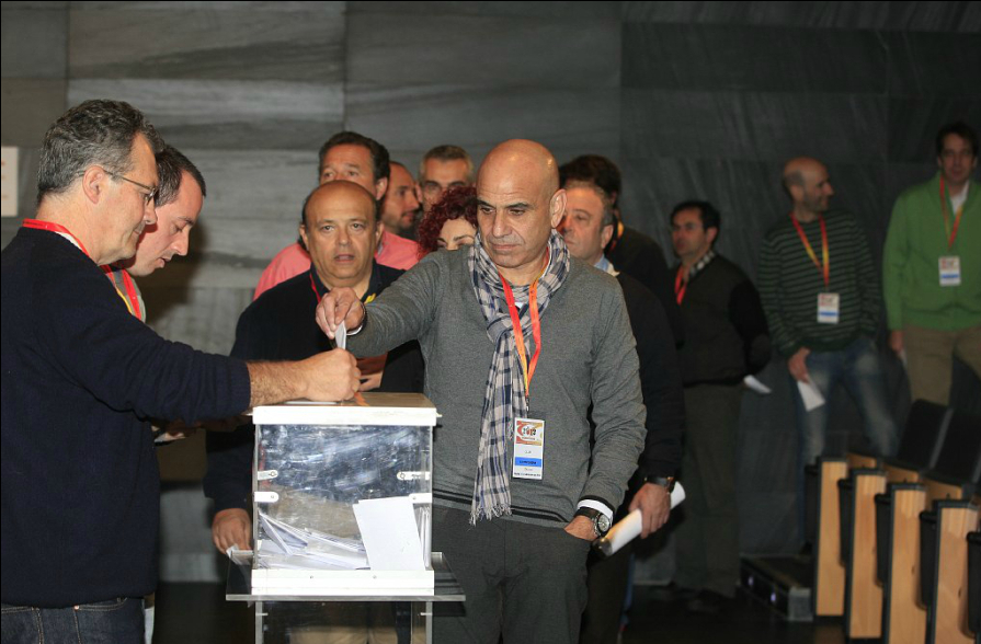 Resultados de las elecciones a la Asamblea General de la RFEA
