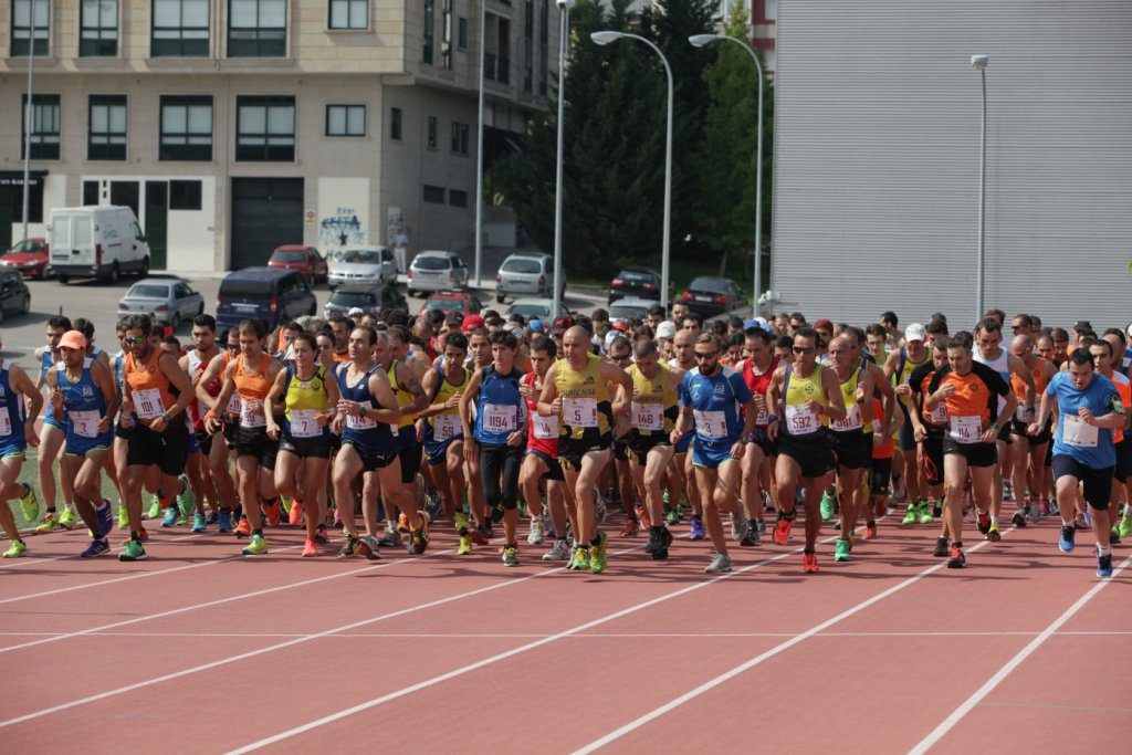 Ourense. 4-09-2016. Correndo por Ourense. Paz