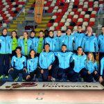 La Gimnástica brilla en la XI Copa de Galicia de Clubs de Pista Cubierta