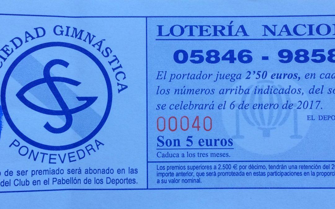 El cobro de la lotería se reduce al lunes