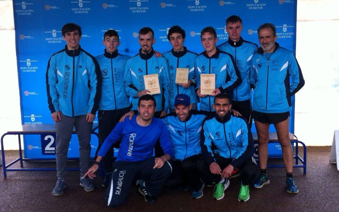Campeones gallegos de cross corto