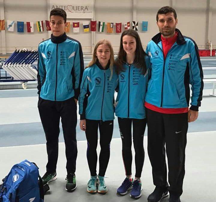 La S.G.Pontevedra acude con seis  atletas al Campeonato de España Cadete