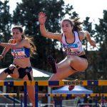 Lucía Ferrer, récord gallego en los 100 metros vallas
