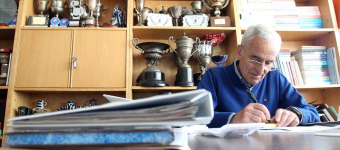 Ramón Touza, una vida en la Gimnástica