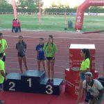Paula de la Torre bronce en el  Campeonato de España cadete