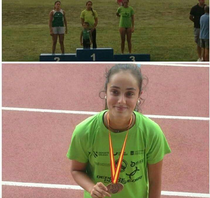 Un bronce y tres finalistas en el Campeonato de España Junior