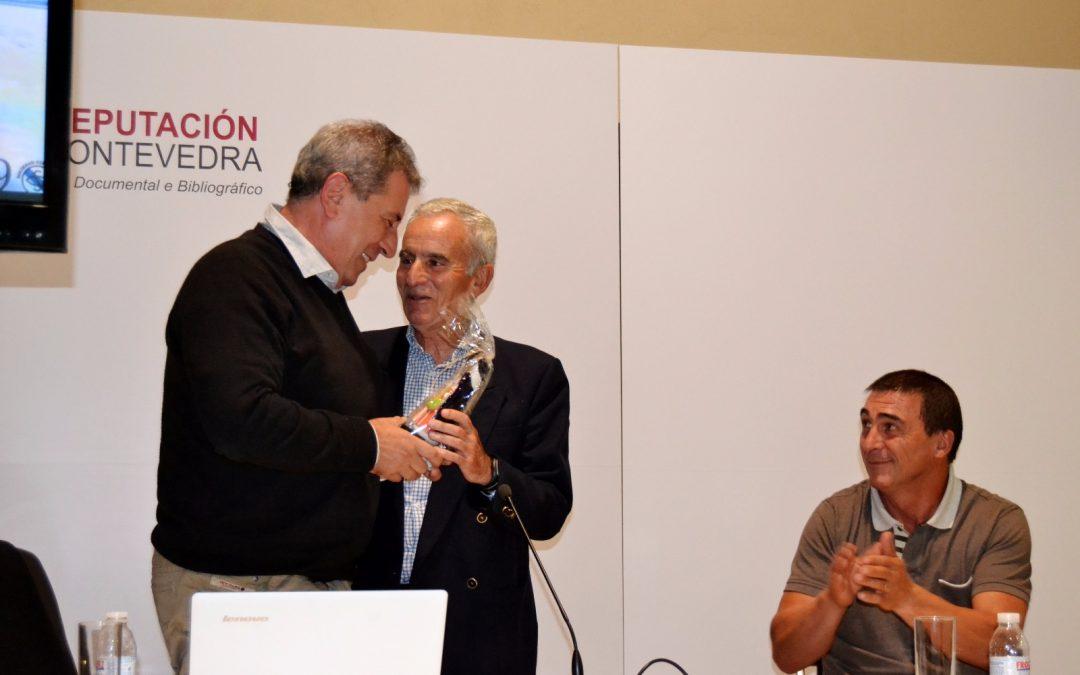 Ramón Cid en el 90 aniversario de la Sociedad Gimnástica de Pontevedra