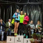 Lucía Cardesín vencedora de la Milla Urbana de O Barco