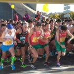 Pontevedra se llenó de corredores en la celebración del Medio Maratón