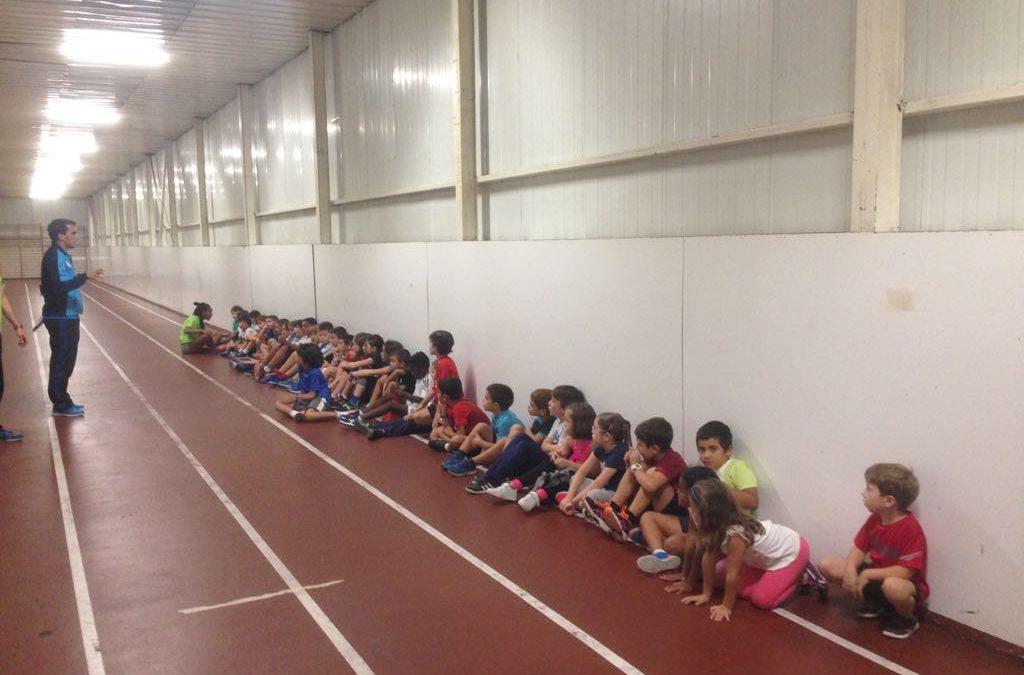 Inauguración de las Escuelas de atletismo