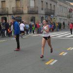 Campeonato de Galicia de Milla en Ruta:  Eva Cid Oro senior y Mercedes Baltar plata en promesa