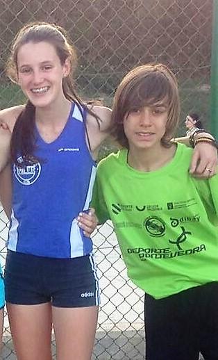 Paula de la Torre y Hugo García Souto en las listas de concentraciones de navidad del programa nacional de tecnificación deportiva