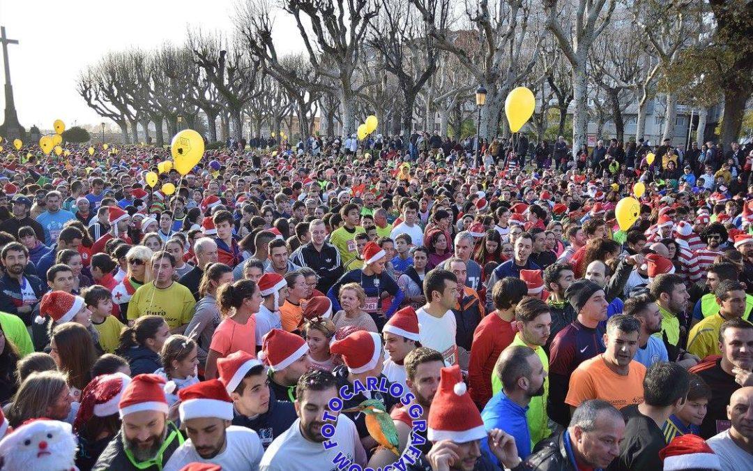 Éxito de participación en la San Silvestre de Pontevedra.