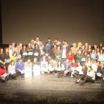 Sociedad Gimnástica de Pontevedra Premio al  Mejor Club de Atletismo de Galicia en la Gala Anual del Atletismo Gallego
