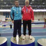 Santiago Ferrer Moreira dos oros y récord gallego M60