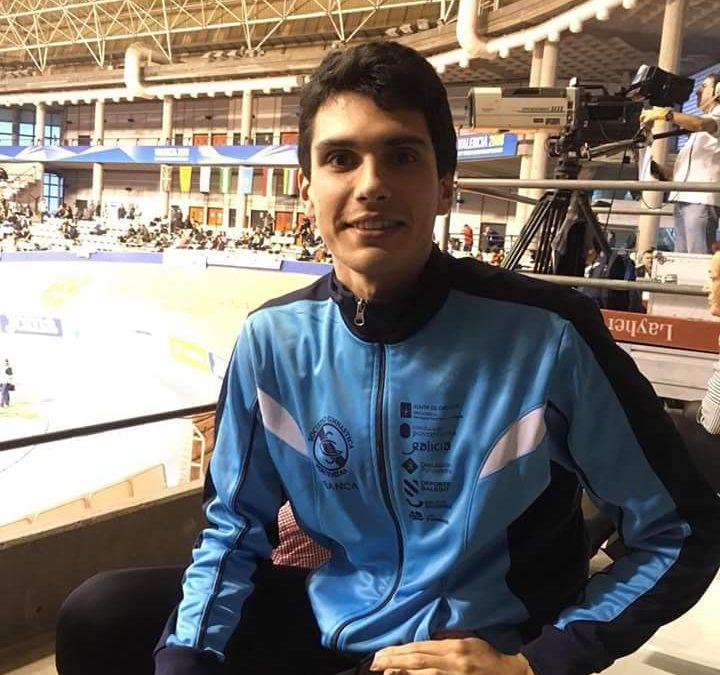 Carlos Porto vencedor nos 5000 metros do VII Trofeo Club Deportivo Aurum
