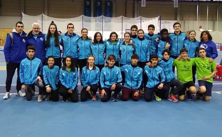 Seis oros, dos platas y seis bronces en el Campeonato Gallego sub 18 y sub 20 de PC.