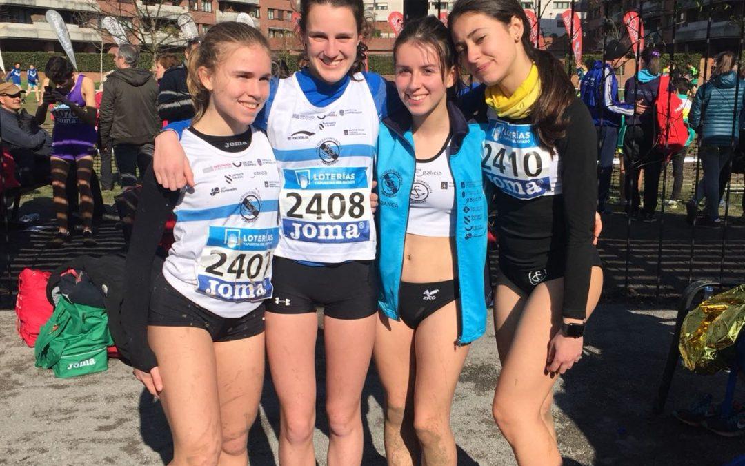 Las atletas sub 18 de la SGP 19º en Campeonato de España de Cross