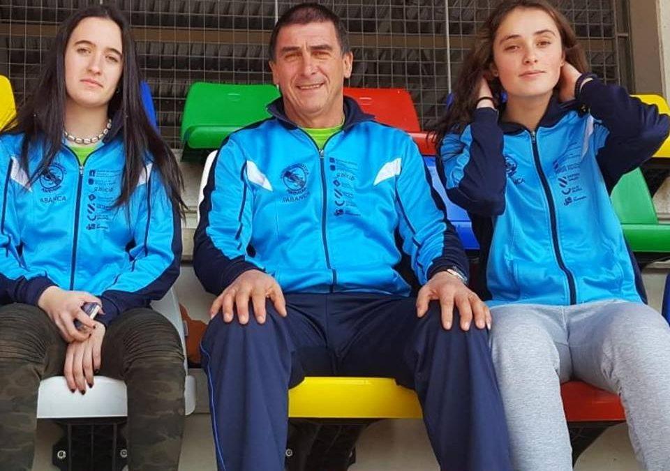 Andrea González Campeona de España de Jabalina sub20. Claudia Puig dos cuartos puestos en jabalina y disco