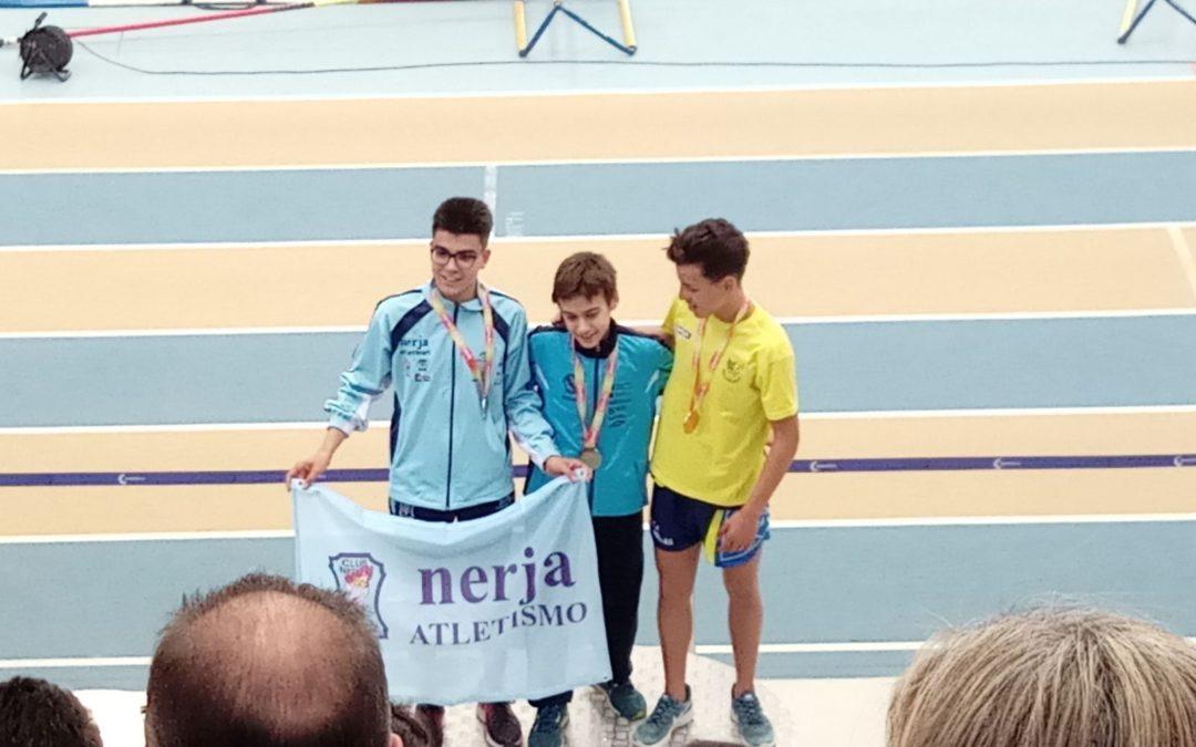 Hugo García Souto Campeón de España 3000 m sub16 PC