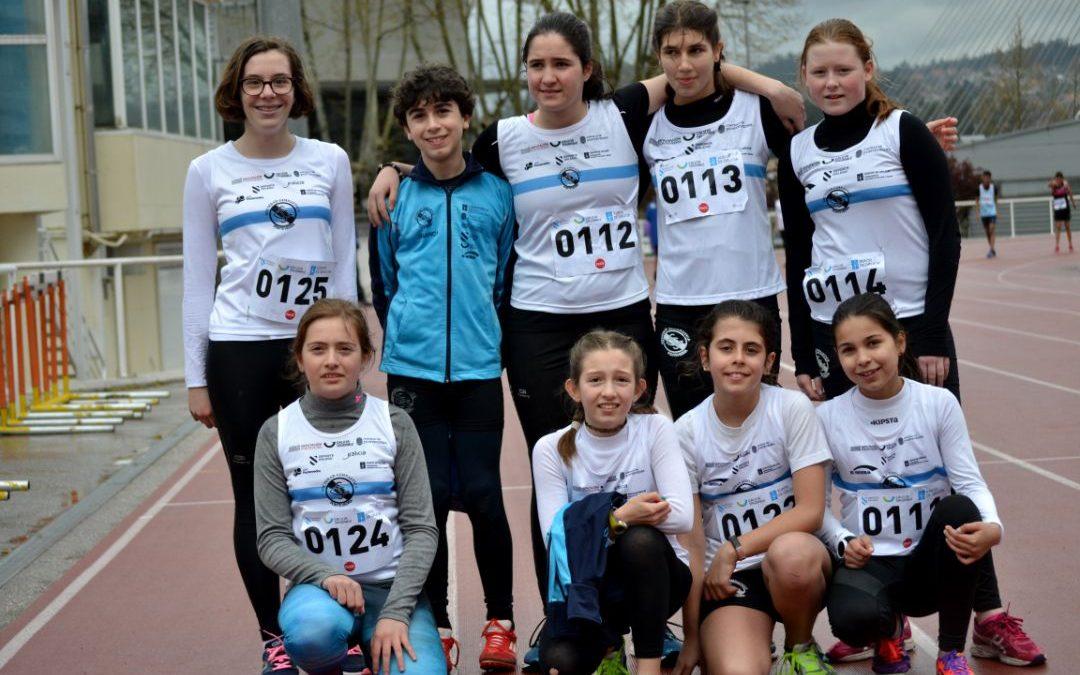 Excelente actuación dos nosos infantís  no XOGADE Zonal Infantil en pista en Vigo