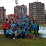 O equipo feminino da SGP bronce no XX Campionato de Galicia de clubes ao aire libre