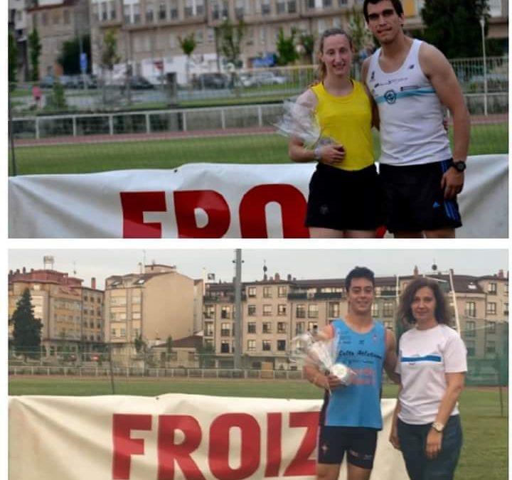 Iria Forján e Miguel Cajaraville vencedores no trofeo Cidade de Pontevedra