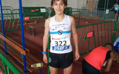Hugo García Souto subcampeón de España en 3000