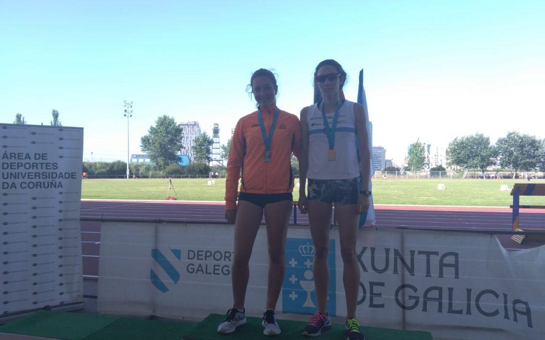 Catro medallas no Campionato de Galicia Absoluto