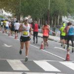 """Manuel """"Huracán"""" Hurtado subcampión no Medio Maratón de Pontevedra"""