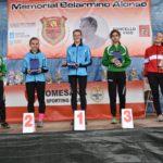 Los atletas gimnásticos estuvieron en el Memorial Belarmino Alonso
