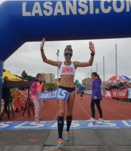 Eva Arias en la 7ª Sansi de Sant Feliu de Llobregat