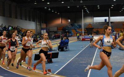 En el fin de semana llegaron las primeras mínimas para los atletas de la Sociedad Gimnástica de Pontevedra